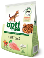 Optimeal корм для котят с курицей