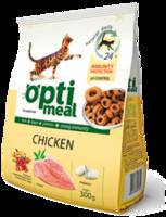 Optimeal корм для кошек с курицей
