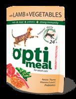 Optimeal для кошек с ягненком и овощами