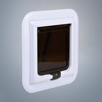 ТРИКСИ Дверца для кошки для стеклянной двери 30,7х30,7 с туннелем