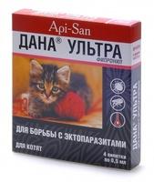 ДАНА Ультра Капли для котят на холку