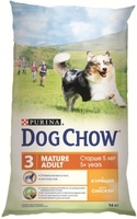 Dog Chow Adult Mature 5+, Chicken