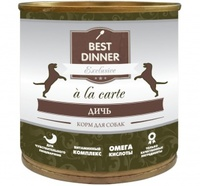 Best Dinner Platinum д/собак Дичь