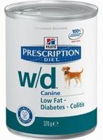 Hill's W/D для собак Лечение диабета и ожирения