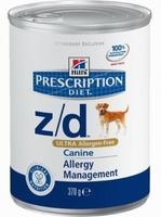 Hill's Z/D для собак Лечение при пищевой аллергии