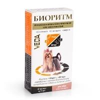 БИОРИТМ Витамины для собак мелких пород, 48 табл