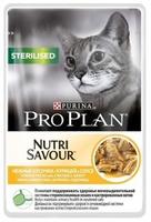 Pro Plan для стерилизованных кошек Курица