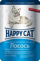 Happy Cat Ломтики в соусе Лосось