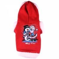 """Костюм карнавальный Doggy Dolly """"Снежный Санта"""" красный, L"""
