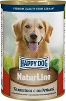 Happy Dog Телятина с индейкой