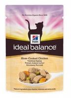 Hill's Ideal Balance для кошек с курицей и овощами