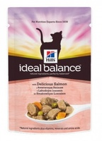 Hill's Ideal Balance для кошек с лососем и овощами