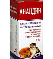 Анандин Капли Глазные, 5мл