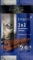 Edel Cat Колбаски-мини /форель-солод/