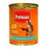 Четвероногий Гурман Мясное ассорти с перепелкой