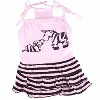 """Платье Doggy Dolly """"Зебра"""", M"""