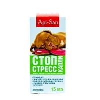 Api-San Стоп-Стресс капли для собак, 15 мл