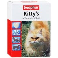 Beaphar Витамины Kitty's с таурином и протеином, 75 табл.