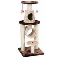 Fauna Int. Игровая площадка для кошек Bonalti, коричнево-бежевая, 45*45*108 см