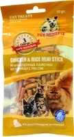 Pet Benefit Лакомства Палочки из курицы с рисом
