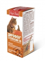 Дирофен суспензия для кошек