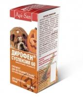 Дирофен суспензия для собак