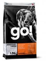 GO! Для Щенков и Собак со свежим Лососем и овсянкой