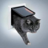 """Trixie Дверца для кошки """"FreeCat de Luxe"""", 17,7*18,7 см"""
