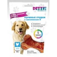 Dezzy Лакомство д\собак Куриные грудки с витамином Е