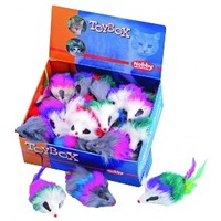 Nobby Игрушка длякошек Мышка с перьями, 1 шт