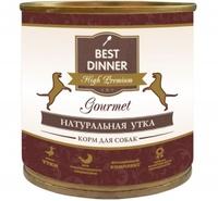 Best Dinner Gold д/собак Утка
