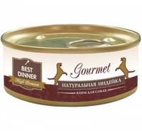 Best Dinner Gold д/собак Индейка