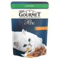 Gourmet Perle Мини-филе в подливе, кролик, для кошек