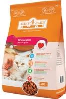 КЛУБ 4 ЛАПЫ Корм для кошек мясное филе