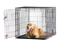 Savic Переноска-клетка Dog Cottage, 118 cм, черная