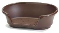 Savic Лежак пластикоывый, Cosy Air 45 см, коричневый