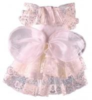 Платье Doggy Dolly свадебное кремовое, S