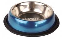 Dezzie Миска для кошек, 225 мл,15,5х15,5х3 см нерж. сталь