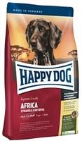 Happy Dog Африка Суприм Сенсибл Страус - Картофель