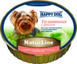 Happy Dog Нежный паштет Телятина с рисом