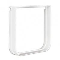 Trixie Дополнительный элемент (тоннель) для дверцы, белый