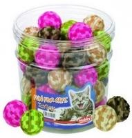 Nobby Игрушка д/кошек Мяч плюшевый, в ассортименте. 4см (45 шт)