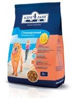 КЛУБ 4 ЛАПЫ для собак гипоалердженик (ягненка и рисом)