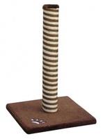 Fauna Int. Когтеточка-столбик Classic, коричневая, 40*40*60 см