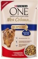 ONE Моя собака Эдалт Говядина, картофель, горошек