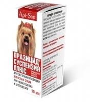 Празицид суспензия плюс для собак, 10мл