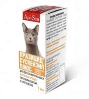 Празицид суспензия для кошек, 7мл